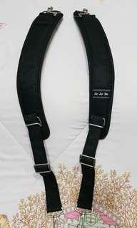 BNIP Jujube Black backpack straps