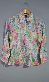 Ralph Lauren - Flowery Top