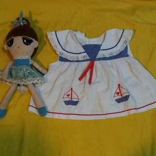 Anchor baby dress