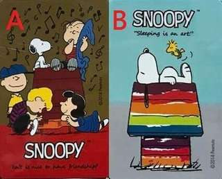 🚚 iPass 一卡通 SNOOPY 一卡通 音樂好友、勇敢夢 兩款可挑史奴比 一卡通 史努比