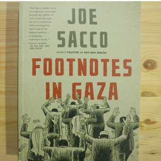Footnotes in Gaza - Paperback
