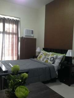 Studio type fully furnished