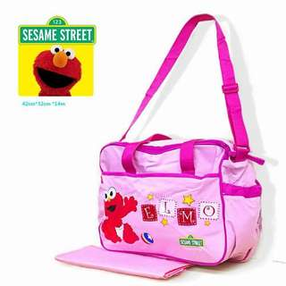 BABY/ELMO DiAPER BAG ry-P570 Brand : The Sesame Street Elmo