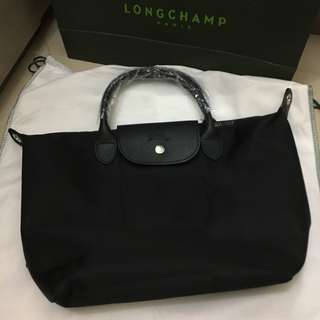 Longchamp Neo Medium Black