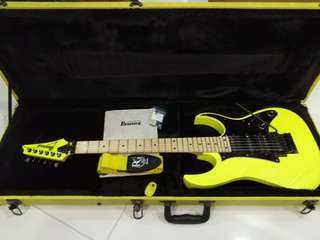 Ibanez RG550MXX 20th Anniversary Reissue (Desert Yellow)