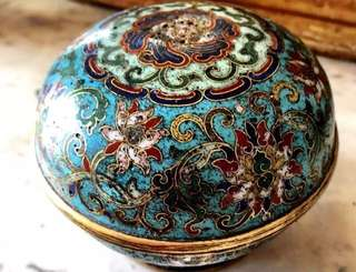 已經售出「宮廷重器」掐絲琺瑯 景泰藍 清代 乾隆 嘉慶 清中期