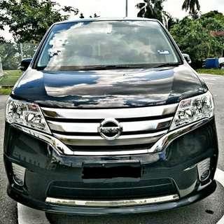 Nissan Serena Hybrid 2.0 (A) Sambung Bayar Bayar /Car Continue Loan