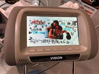 7 inch headrest monitor