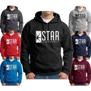 [PO] Unisex Hoodie The Flash STAR S.T.A.R. Laboratories