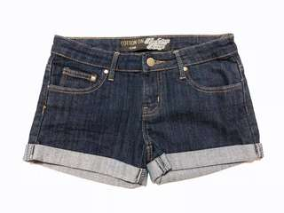 Cotton On Denim Dark Blue Shorts