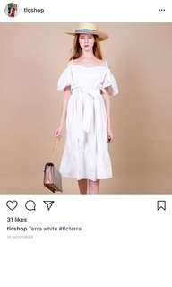 TLC White dress