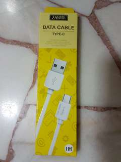 Type C data cable - 1M