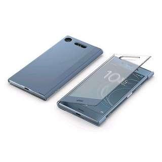 Sony xz1原裝機套藍色
