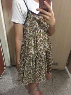 🚚 小花洋裝 #五十元好物