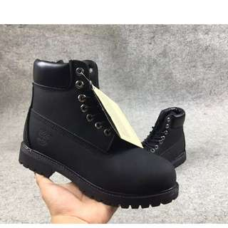 MEN WOMEN LEATHER BOOTS WATERPROOF TIMBERLAND BOOTS 36-47