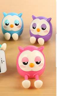 Owl Design phone stands