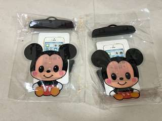Waterproof Handphone pouch (Mickey Mouse Minnie Mouse)