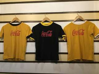 Coca-cola trendy tees
