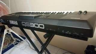 Yamaha workstation synthesizer keyboard