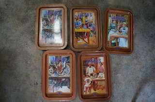 Tray vintage #ramadan50 #list4sbux
