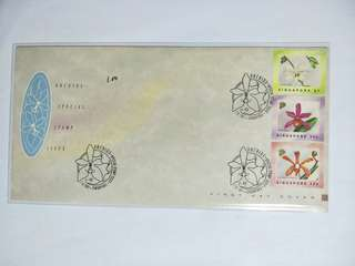 Singapore FDC Orchid