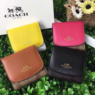 Coach small wallets (pre order eta 3 june) - limited in stocks