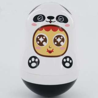 Beebipeace QQ不倒翁萬字夾萬用盒(熊貓) QQ Tumbler Paper Clips Multi-function Box (Panda)