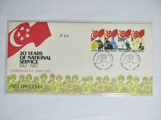 Singapore FDC National Service
