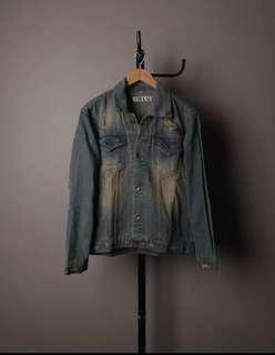 Off White Vintage Denim Jacket