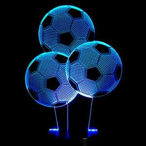 LED 3D Table Lamps