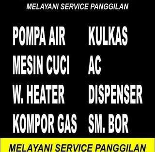 Service panggil Ac.kulkas. mesin Cuci Hub 081356709141