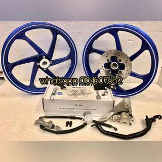 Package Modify Disc Brake Belakang For Lc135 v1/v2/v3/v4