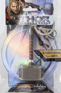 Marvel Avenger Thor Hammer Pewter Keychain keyring #list4sbuck #ramadan50