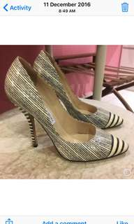 Jimmy Choo Printed Pump (size 9 / 39)