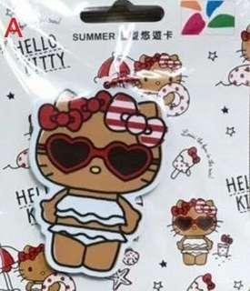 HELLO KITTY 裁型悠遊卡-SUMMER、蝴蝶結 兩款可挑