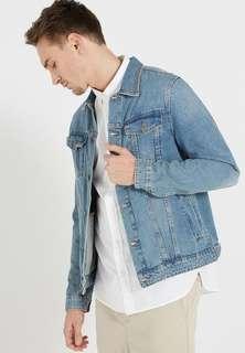 BNWT Cotton On Vintage Blue Rodeo Jacket