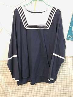 🚚 可愛長袖水手服