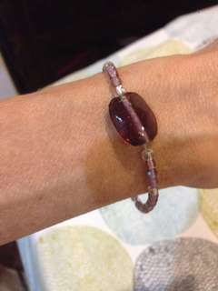Beautiful handmade bead bracelet