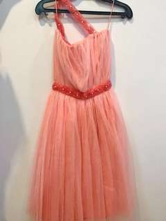 Pink Long Gown (for Kids)
