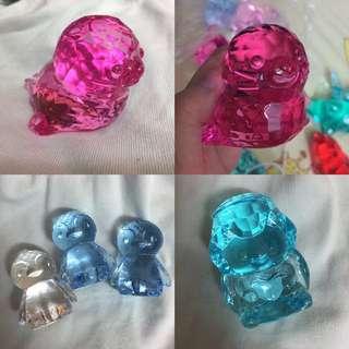 仿水晶 寶石 海獅 天使 企鵝