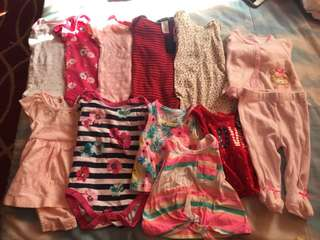REPRICED!!For take all!!Baby clothes