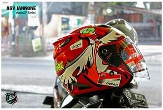 Helm Replika motoGP IANNONE