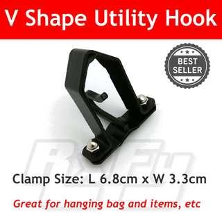 V Shape Utility Hook Hanger Scooter