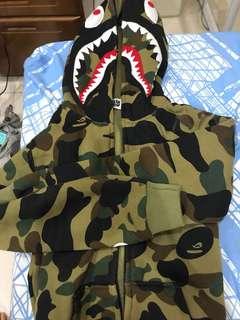 A Bathing Ape full zip hoodie