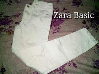 Zara Basic Denim Pants