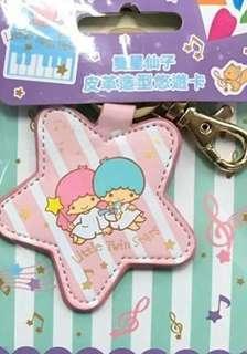 🚚 雙星仙子-皮革造型悠遊卡