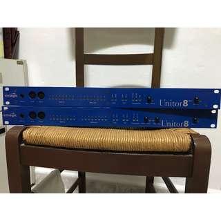 emagic Unitor8MkII + Unitor8 (8 x 8 / 128 MIDI Channels) MIDI Interfaces
