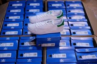 Adidas Original Stansmith Primrknit White green
