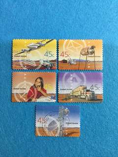 2001 Australia Outback Services 5 Values Set