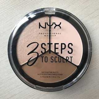 NYX 3 STEPS TO SCULPT FACE SCULPTING PALETTE - Fair